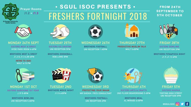 ISoc Freshers Poster 2018