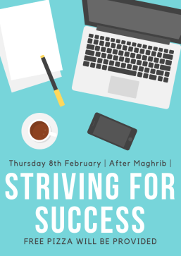 Striving For Success Halaqah