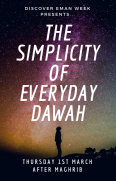 The Simplicity of Everyday Dawah