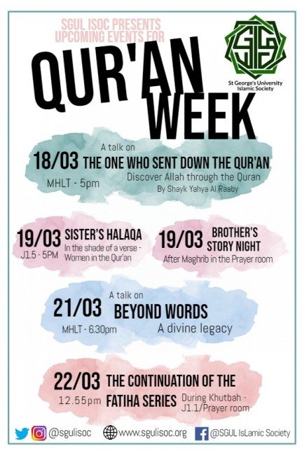 Qur'an Week Overview