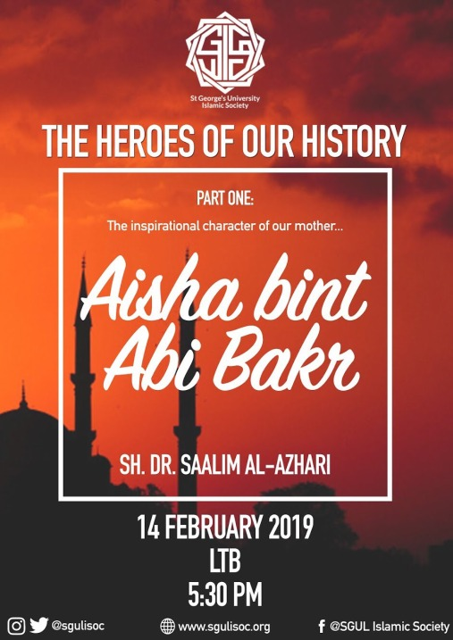 The Heroes of Our History Part I - Aisha RA