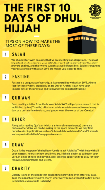 Dhul Hijjah Post #1