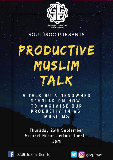 Productive Muslim Talk-1