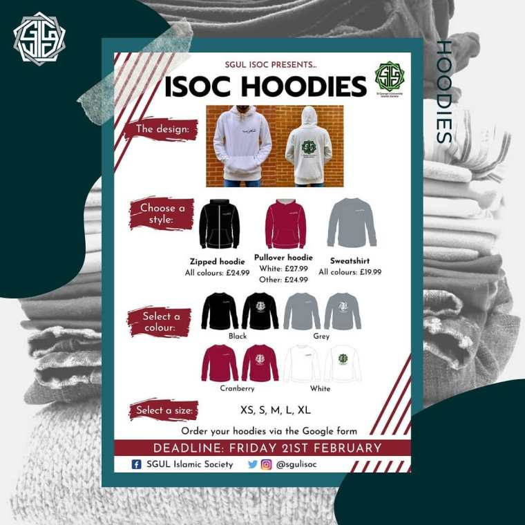 ISoc Hoodies