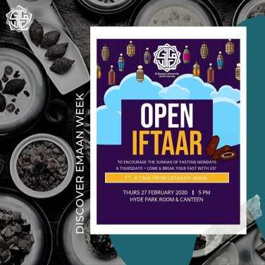 Open Iftaar