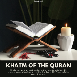 7Khatm of the Quran
